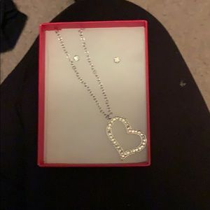 Talbots necklace and earrings